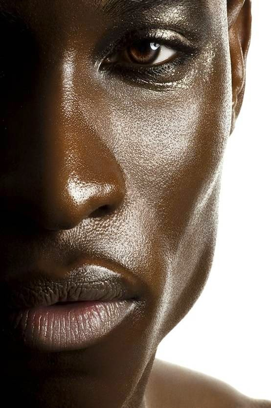 Beautiful Chocolate Skin